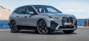 BMW iX car lease front