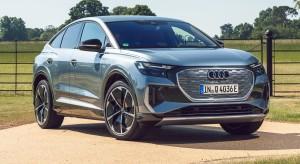 Audi Q4 e-tron car lease front