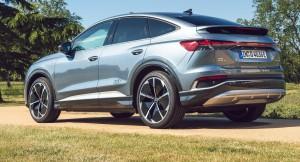 Audi Q4 e-tron car lease range firstvehicleleasing.co.uk 2