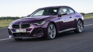 BMW 2 Series Coupe car lease front