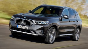 BMW X3 car lease front