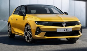 Vauxhall Astra car lease front
