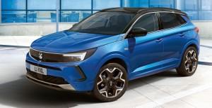 Vauxhall Grandland car lease front