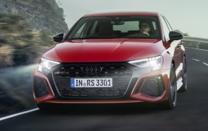 Audi RS3 car lease front