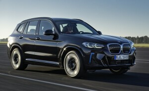 BMW iX3 car lease front