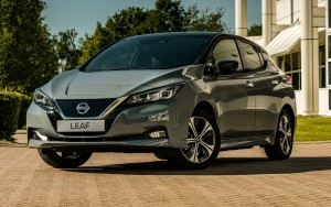 The Nissan Leaf car lease range has been updated with more technology and safety features.