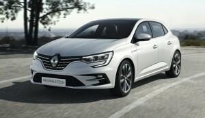 Renault Megane E-Tech car lease front