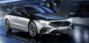 Mercedes EQS car lease front