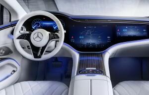 All-electric Mercedes EQS car lease firstvehicleleasing.co.uk 2