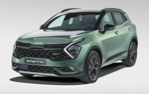 Kia Sportage car lease front