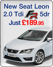 The All New Seat Leon 2.0 Tdi FR now available for car leasing at �189.99 + vat per month