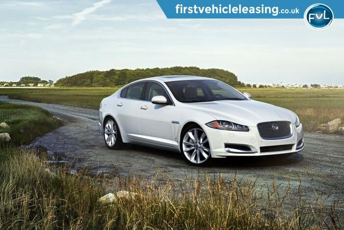 Jaguar XF 2.2D 200PS Countryside White Executive car
