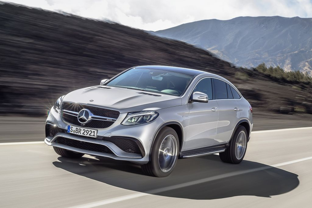 Mercedes-Benz GLE Coupe - Preview