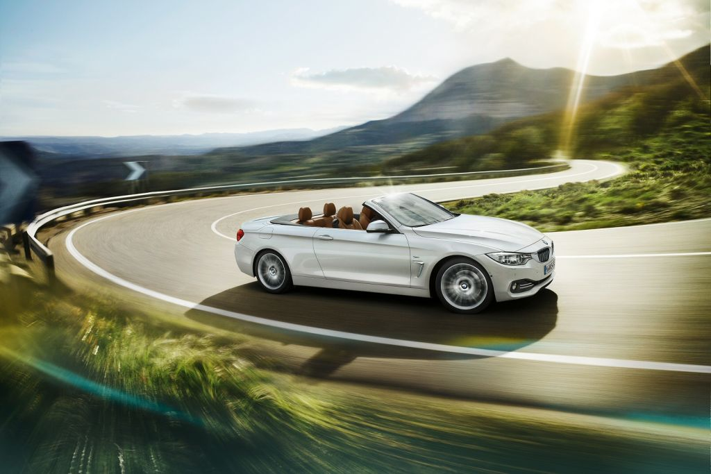 BMW 4 Series Convertible Countryside White Convertible