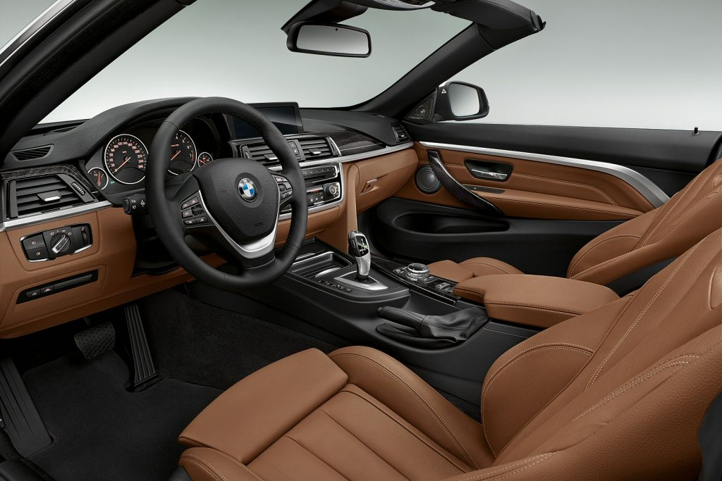 BMW 4 Series Convertible Interior