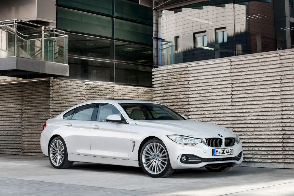 BMW 4 Series Gran Coupe Urban Silver Executive car