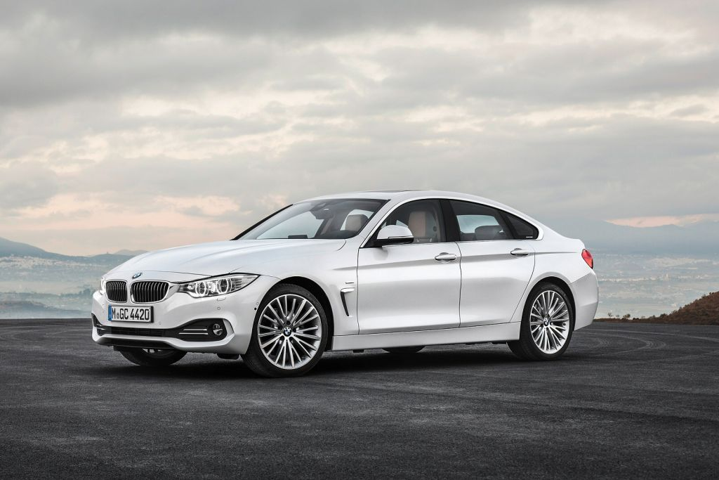 BMW 4 Series Gran Coupe Sea Silver Executive car