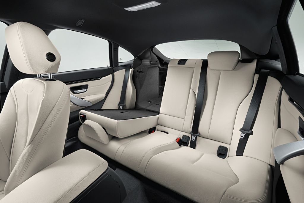 BMW 4 Series Gran Coupe Interior Grey Executive car