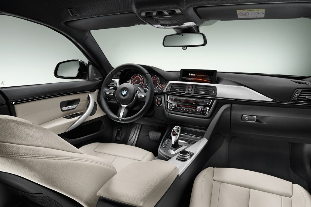 BMW 4 Series Gran Coupe Interior Two-tone Executive car
